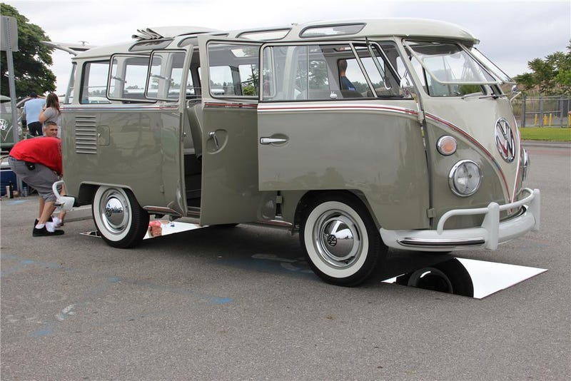 This is what a $217,800 1963 Volkswagen Bus looks like