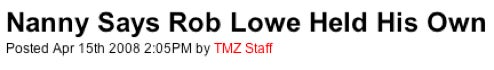 TMZ's Cheesy, Innuendo-Laden Headlines