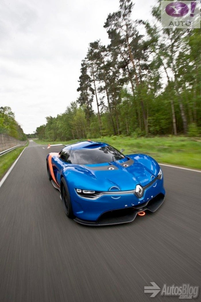 More Leaked Images Of The Renault Alpine Concept