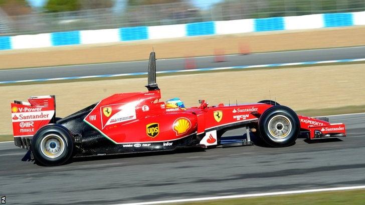 The extended banana bar on F1 cars?