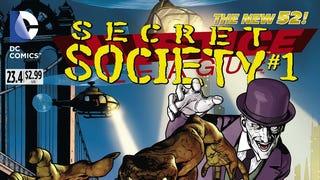"Comic Book Review -- Justice League 23.4 ""Secret Society #1"""