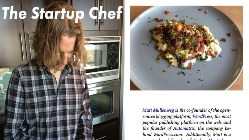 There's a Cookbook Starring Tech Startup Weirdos Because Not Even Food Is Safe