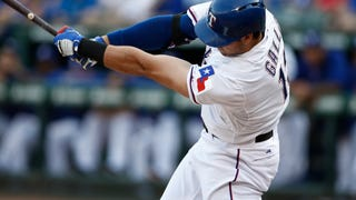 Joey Gallo Is Already Raking