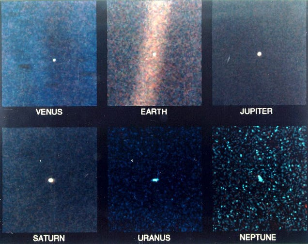 This Is Our Entire Solar System And Its Tiny, Scattered Planets
