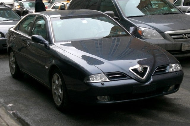 Alfa Romeo 166 Spotted in NYC