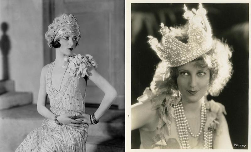 Fancy Vintage Ladies Wearing Amazing Vintage Hats