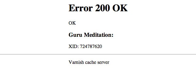 Resolved: Ongoing Error 200 OK on Gawker Media Sites