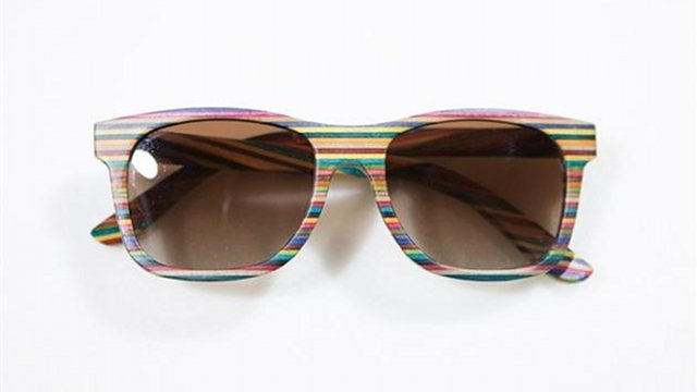 Rad Sunglasses Made From Recycled Skateboards