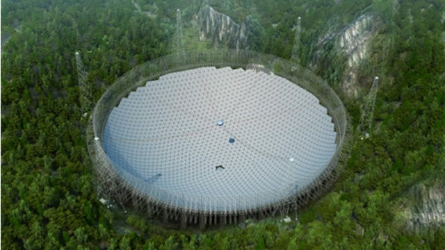 World's Largest Radio Telescope Being Built in China, Hopefully Not For Evil