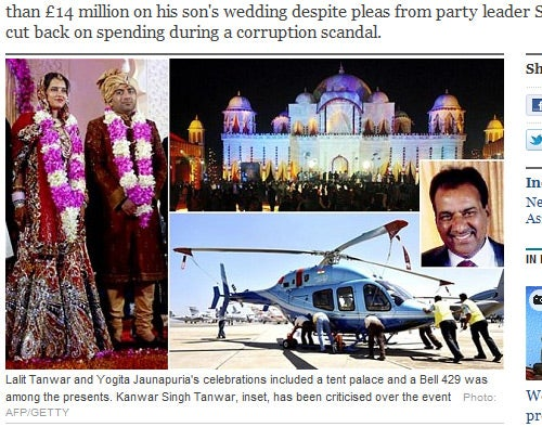Indian Politician Throws $22 Million Wedding for His Son