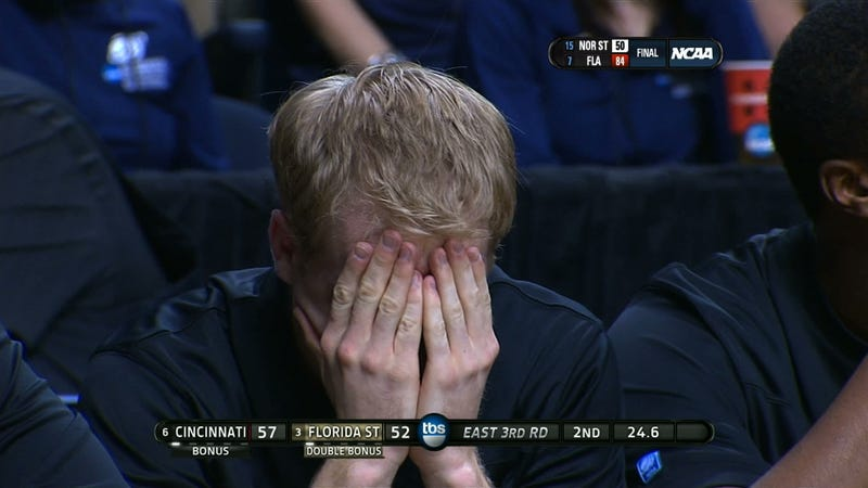 Sweetness Follows: Crazy-Faced Kansas Fan And The Other Mugs Of March Madness, Day Four