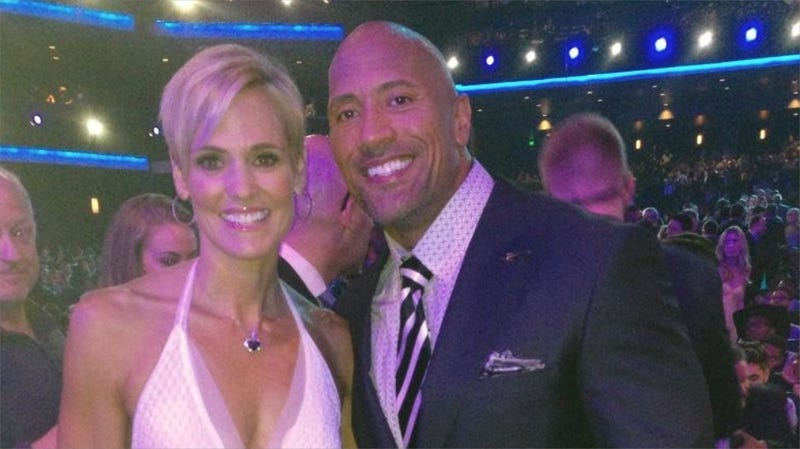 Who Else Is Shipping Dara Torres and Dwayne 'The Rock' Johnson Now?