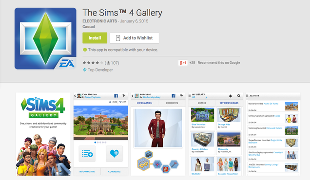 download free apps sims 4