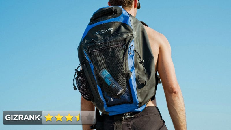 DryCASE Waterproof Backpack Review: Moisture Ain't a Thing
