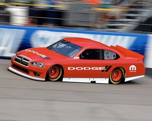 Dodge Shows Off Its Newish NASCAR Nose