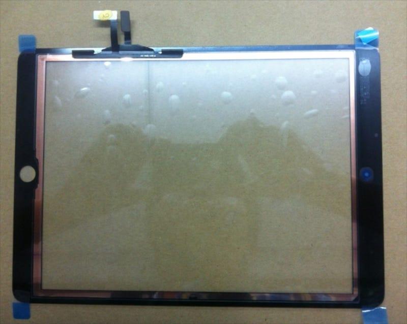 Esta pantalla filtrada muestra cómo podría ser el próximo iPad
