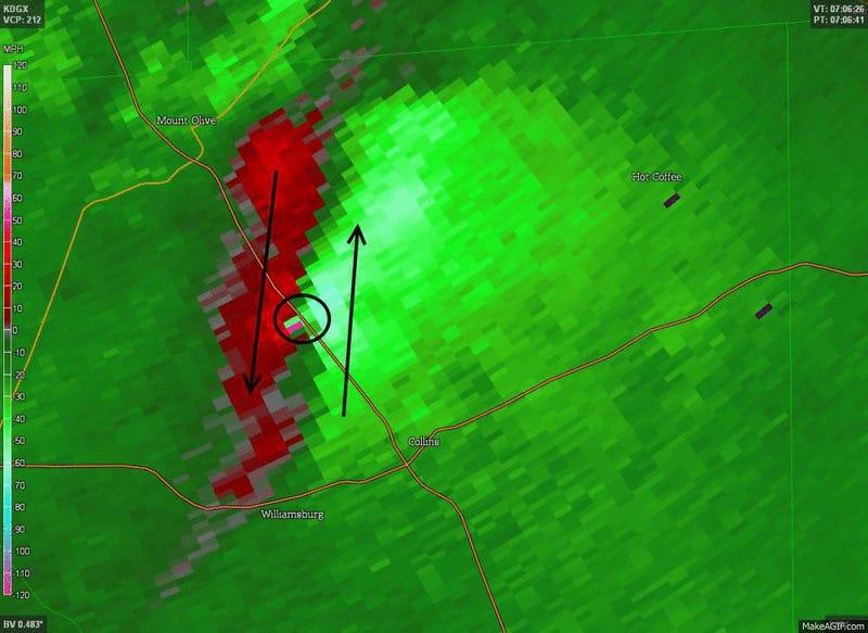 New Radar Technology Confirms Damaging Tornado in the Dead of Night