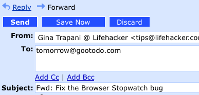 Gootodo Gets Tasks Out of Your Inbox