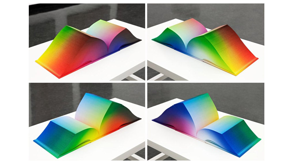 This Book Contains Every Rgb Color That Exists