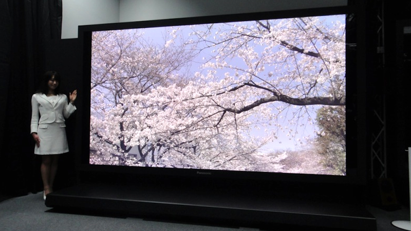 Panasonic Steals Crown for Giant 8k TV That Will Melt Your Face