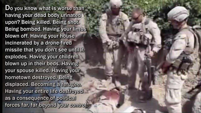 Piss on War: Death, Desecration, and Afghanistan