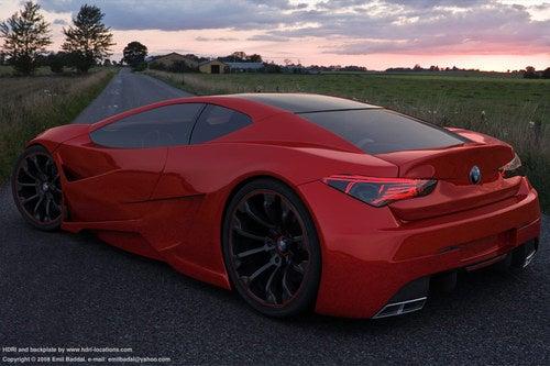 Emil Baddal BMW Supercar