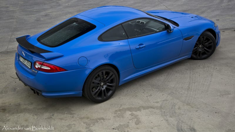 Jaguar XKR-S: Straight Up Car Porn