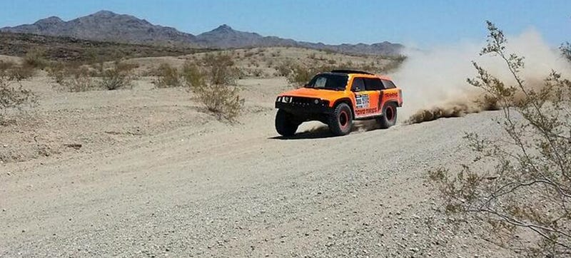 Will Robby Gordon's HST Gordini Truck Be Able To Finish Dakar This Time?