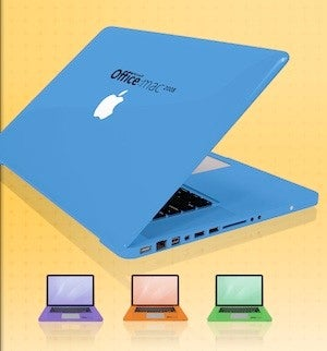 Win a MacBook Pro...Painted in Microsoft Office for Mac Colors