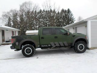 the svt raptor from the halo 4 launch giveaway is on craigslist in cleveland somehow. Black Bedroom Furniture Sets. Home Design Ideas