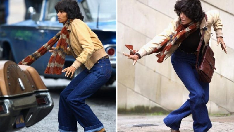 See Halle Berry Interpretive-Dance With, Hide From Cars