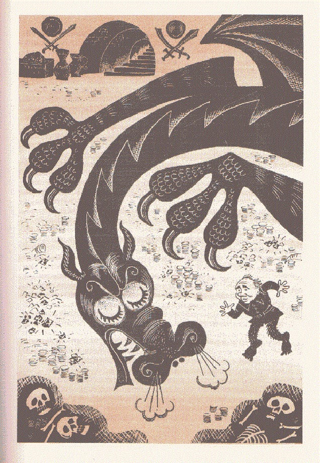 The Soviet Edition of The Hobbit Has the Best Gollum