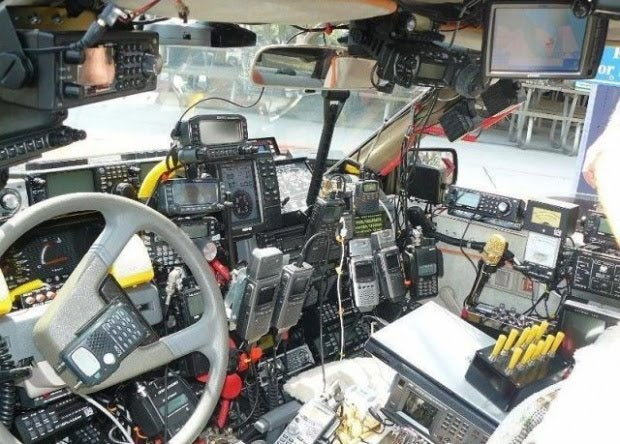 Ham Radio Car: Sale Photos