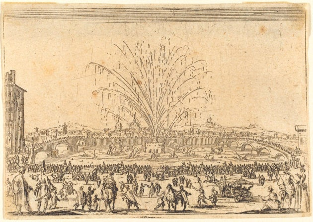 The First Fireworks Displays Were Terrifyingly Huge