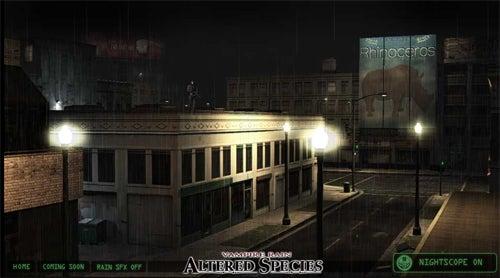 Vampire Rain: Altered Species Website More Fun Than Actual Game