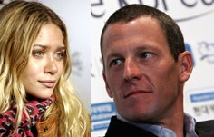 Ashley Olsen & Lance Armstrong Get It On