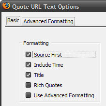 QuoteURLText Copies Highlighted Text and Source URL