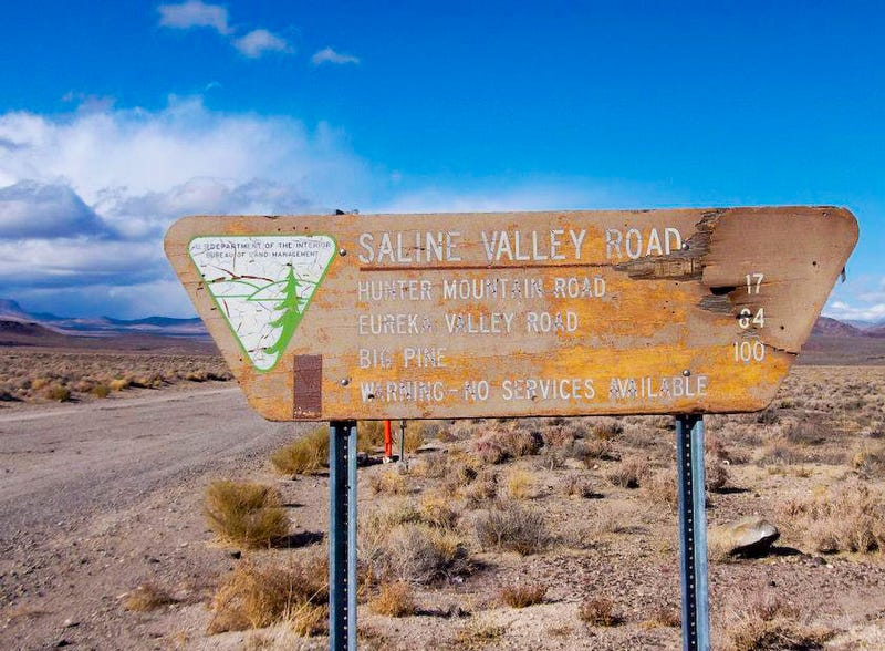 How to off-road a crossover in Death Valley without dying