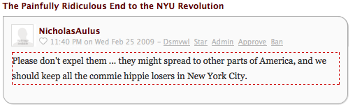 'We Should Keep All the Commie Hippie Losers in New York City'