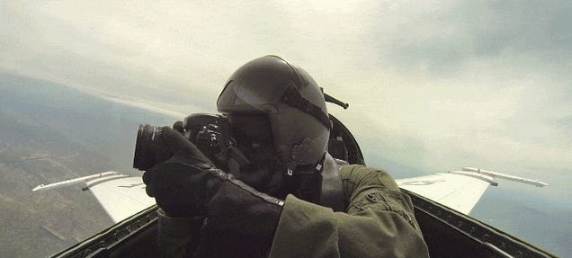 Taking Photos From Inside Fighter Jets Is the Coolest Job Ever