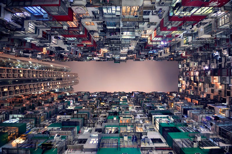 Stunning images of the endless buildings and skies of Hong Kong