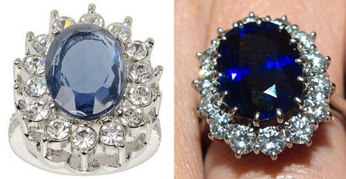 Your Kate Middleton Knock-off Ring, on Sale Now!