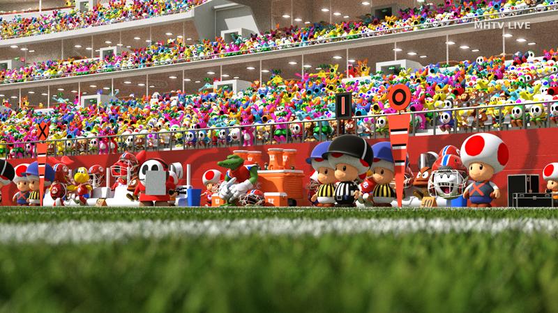 Nintendo Characters As Football Players
