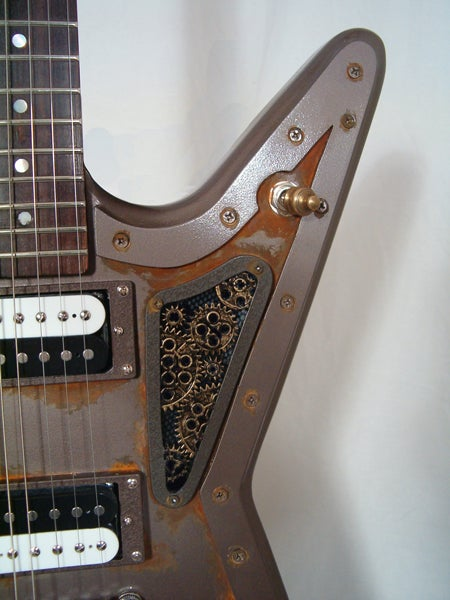 Steampunk Guitar Version 2: The Nautilus