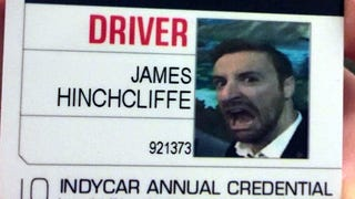 James Hinchcliffe Put The Best Photo Ever On His IndyCar License