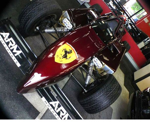 "Ferrari-Badged, Chrysler-Powered Open Wheeled ""Indy Ferrari"""