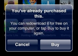 No More Free App Re-Downloads on iPhones