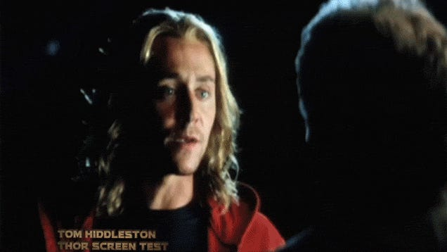 Behold Tom Hiddleston's shirtless audition for the role of Thor