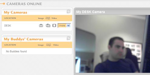 HomeCamera Turns Your Webcam into a Surveillance Camera