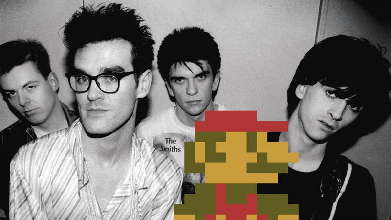 Mario Meets Morrissey, At Long Last